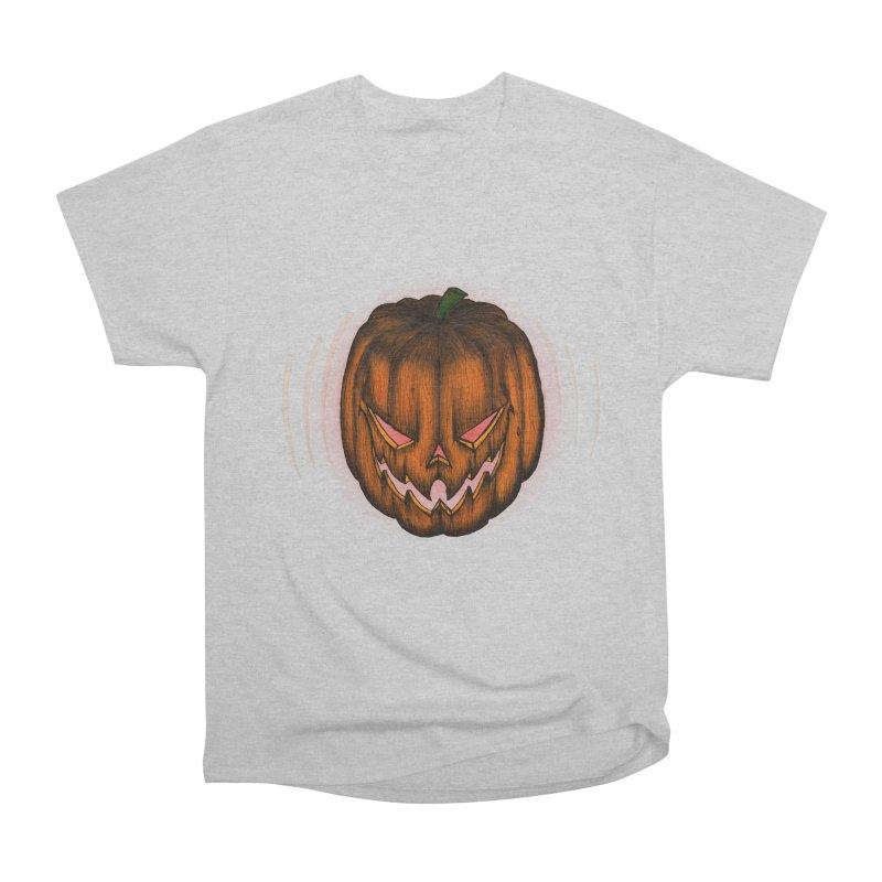 Cutout Grin Men's Classic T-Shirt by thewayofpk