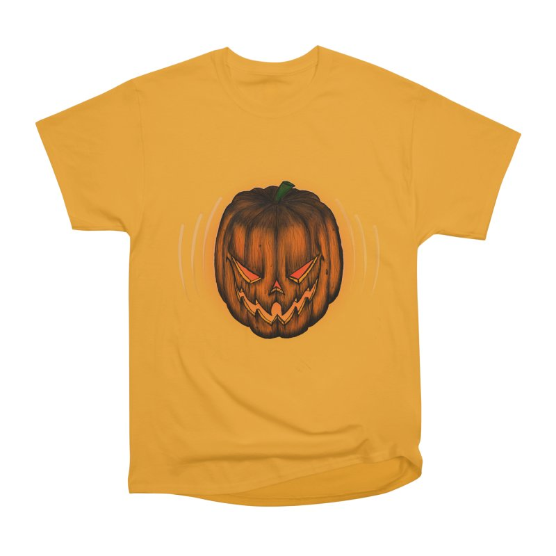 Cutout Grin Women's Classic Unisex T-Shirt by thewayofpk - wear 2 scare