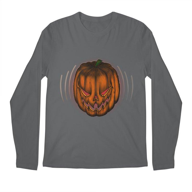 Cutout Grin Men's Longsleeve T-Shirt by thewayofpk - wear 2 scare