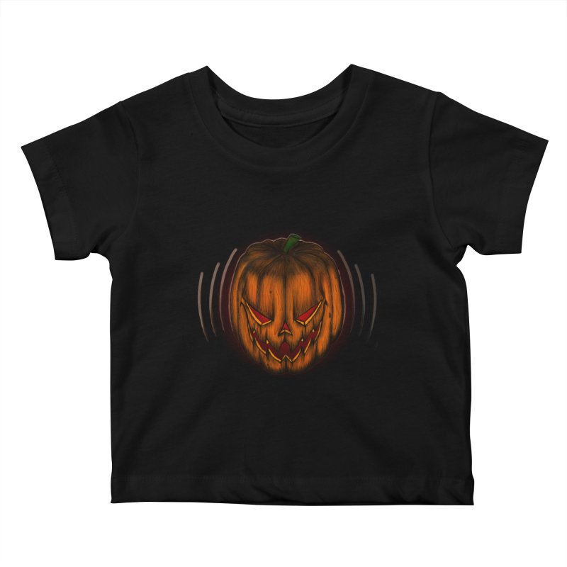 Cutout Grin Kids Baby T-Shirt by THEWAYOFPK