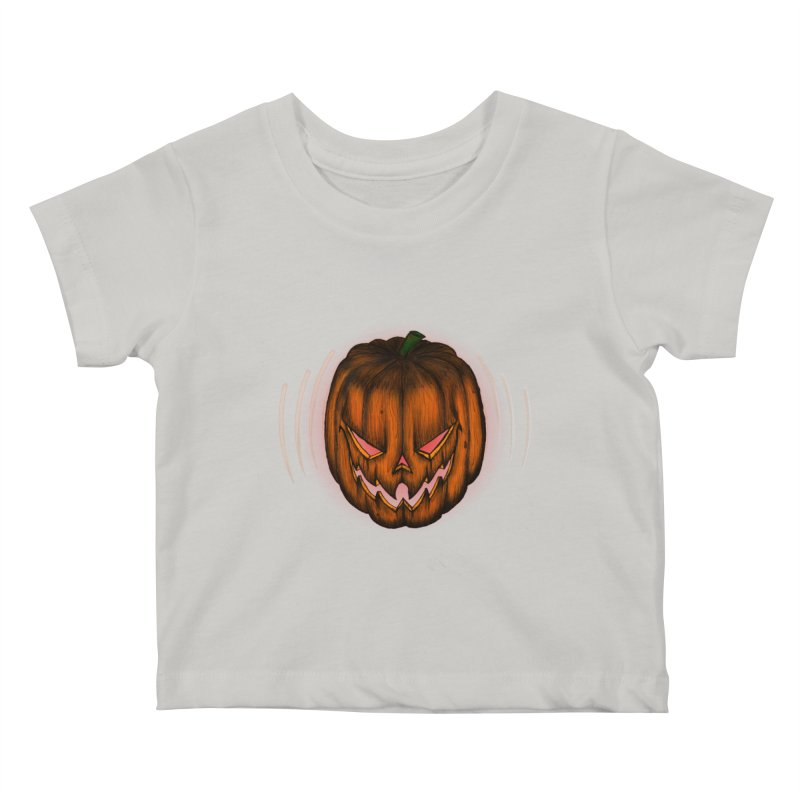 Cutout Grin Kids Baby T-Shirt by thewayofpk - wear 2 scare
