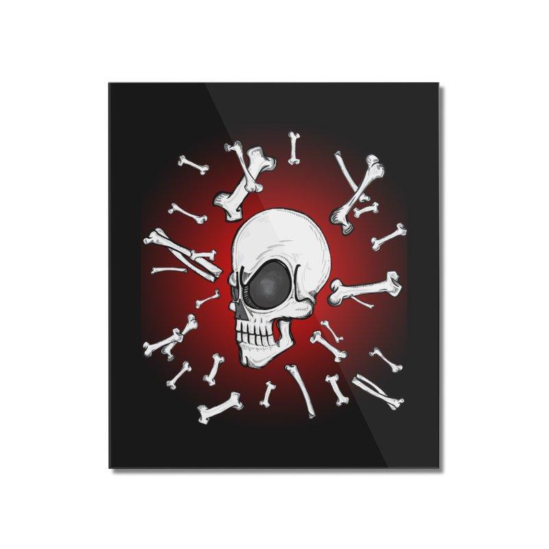 Mad 2 Da Bone Home Mounted Acrylic Print by THEWAYOFPK