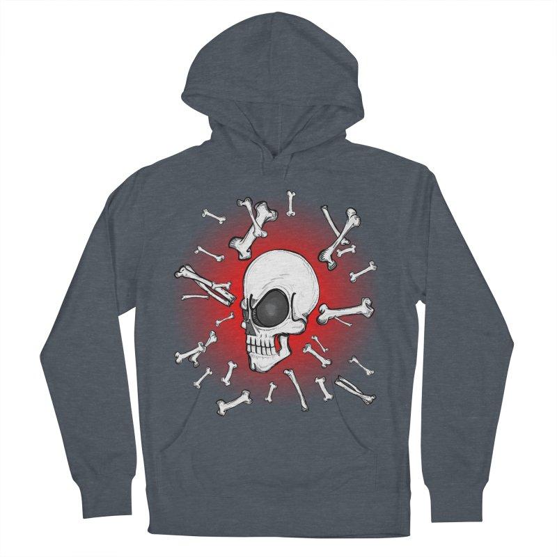 Mad 2 Da Bone Men's Pullover Hoody by thewayofpk - wear 2 scare