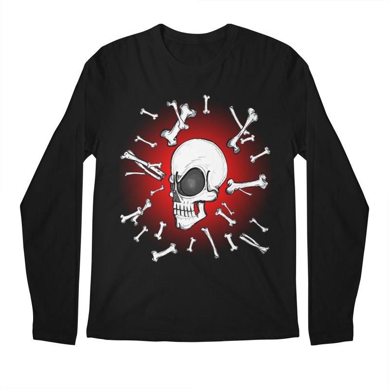 Mad 2 Da Bone Men's Longsleeve T-Shirt by thewayofpk - wear 2 scare