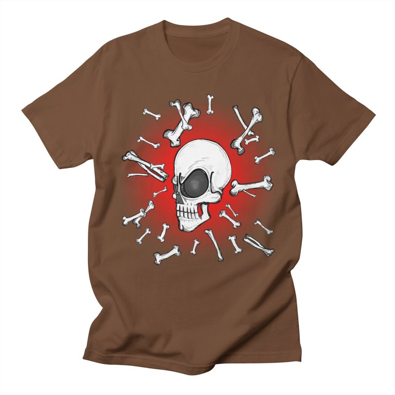 Mad 2 Da Bone Men's T-Shirt by thewayofpk
