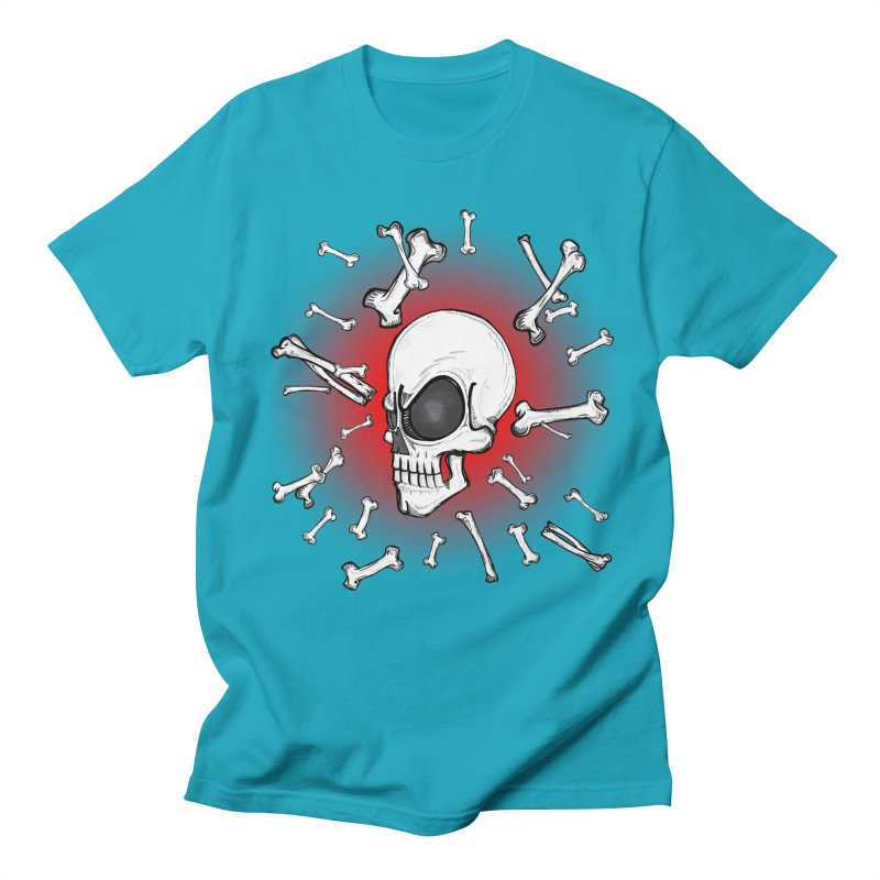 Mad 2 Da Bone Men's T-shirt by thewayofpk - wear 2 scare