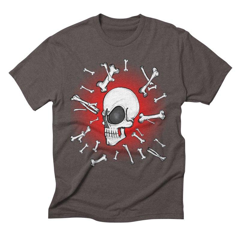 Mad 2 Da Bone Men's Triblend T-Shirt by thewayofpk