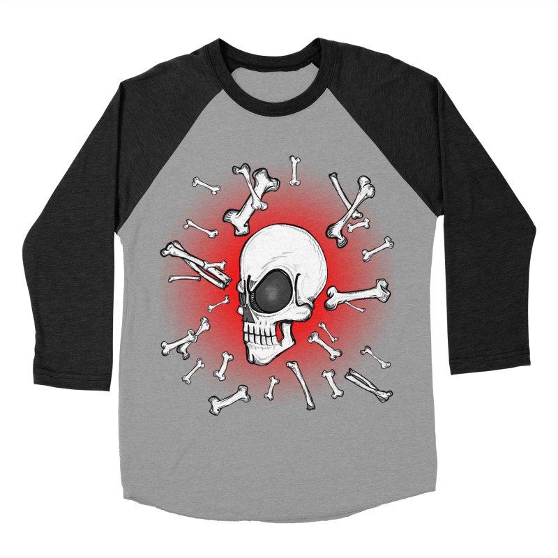 Mad 2 Da Bone Men's Baseball Triblend T-Shirt by thewayofpk - wear 2 scare