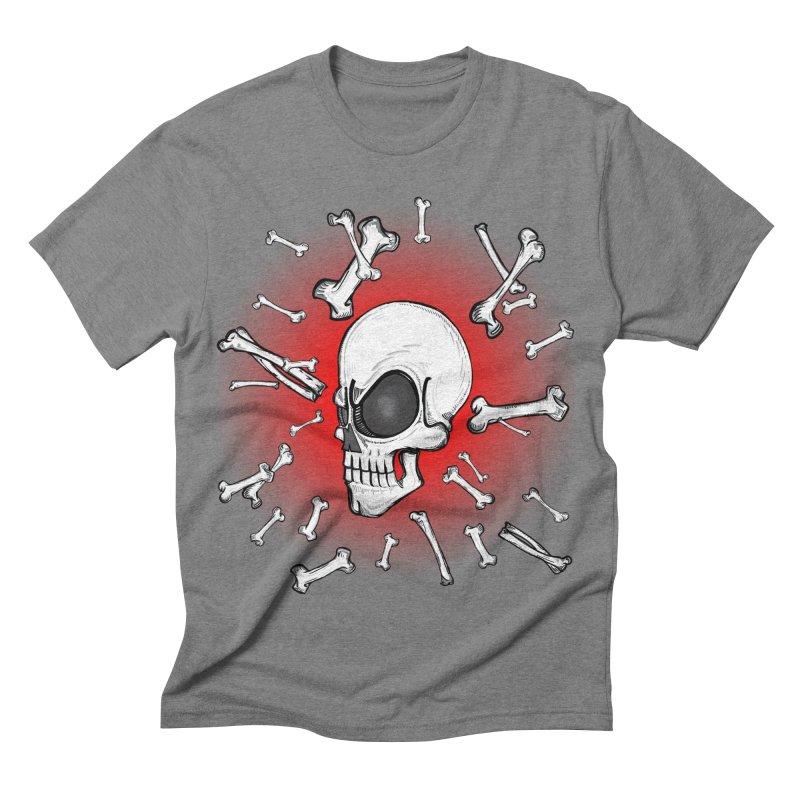 Mad 2 Da Bone Men's Triblend T-shirt by thewayofpk - wear 2 scare