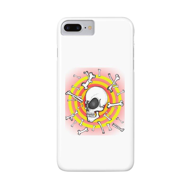 Madder 2 Da Bone Accessories Phone Case by thewayofpk - wear 2 scare