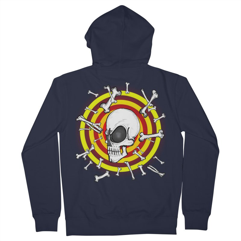 Madder 2 Da Bone Men's Zip-Up Hoody by thewayofpk - wear 2 scare