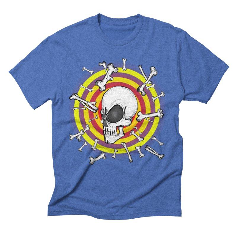 Madder 2 Da Bone Men's Triblend T-shirt by thewayofpk - wear 2 scare