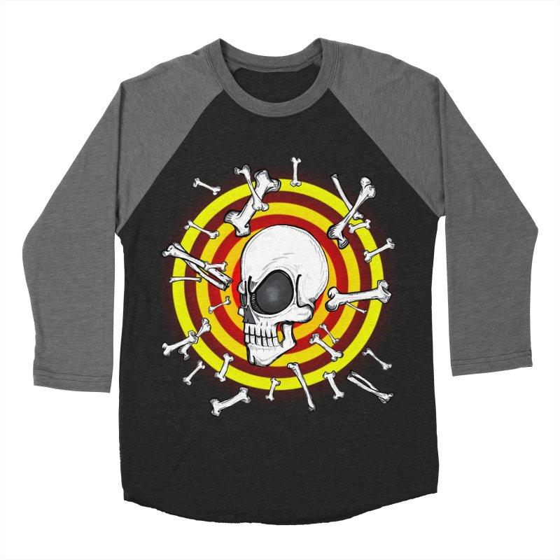 Madder 2 Da Bone Women's Baseball Triblend T-Shirt by thewayofpk - wear 2 scare
