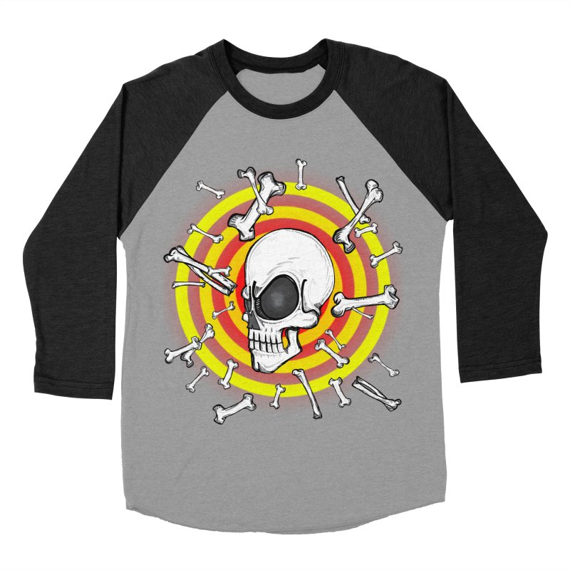 Madder 2 Da Bone Men's Baseball Triblend T-Shirt by thewayofpk - wear 2 scare