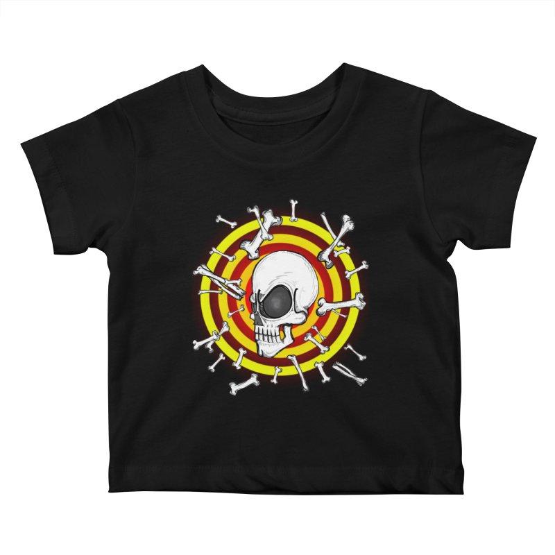 Madder 2 Da Bone Kids Baby T-Shirt by thewayofpk - wear 2 scare