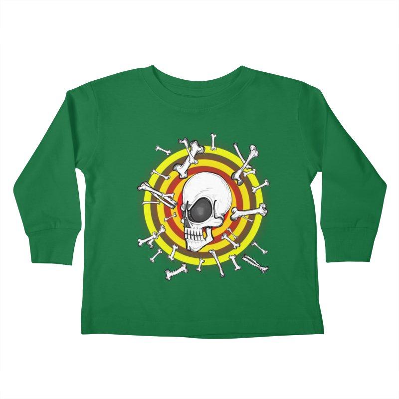 Madder 2 Da Bone Kids Toddler Longsleeve T-Shirt by thewayofpk - wear 2 scare