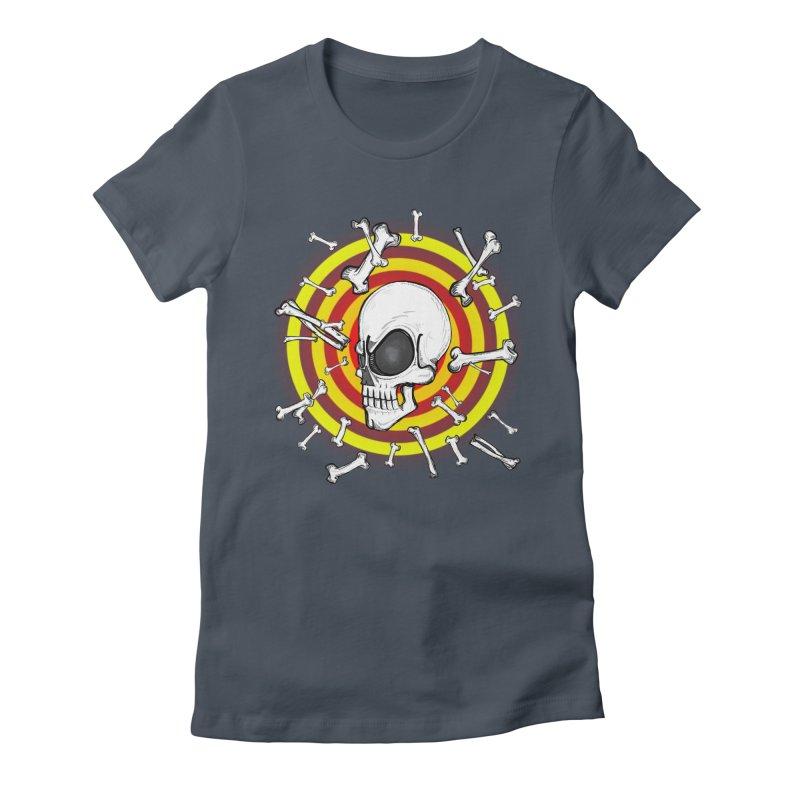 Madder 2 Da Bone Women's Fitted T-Shirt by thewayofpk - wear 2 scare