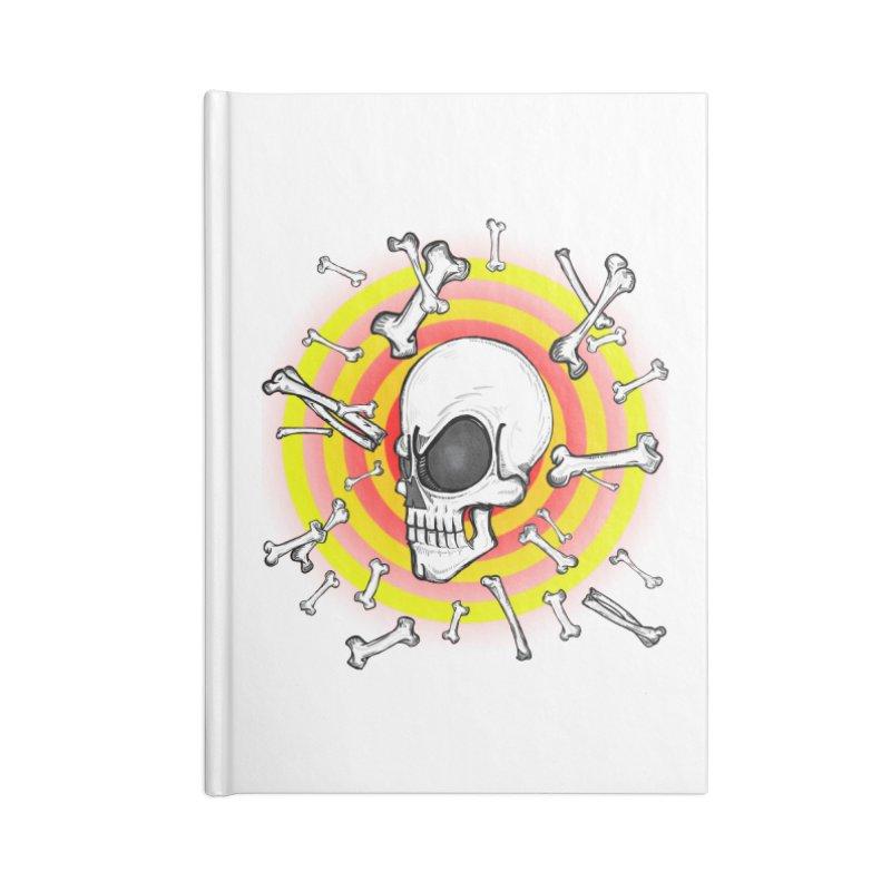 Madder 2 Da Bone Accessories Notebook by thewayofpk - wear 2 scare