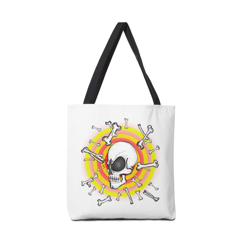 Madder 2 Da Bone Accessories Bag by thewayofpk - wear 2 scare