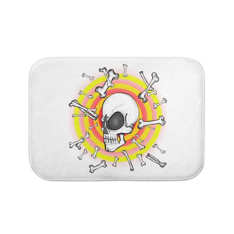 Madder 2 Da Bone Home Bath Mat by thewayofpk - wear 2 scare