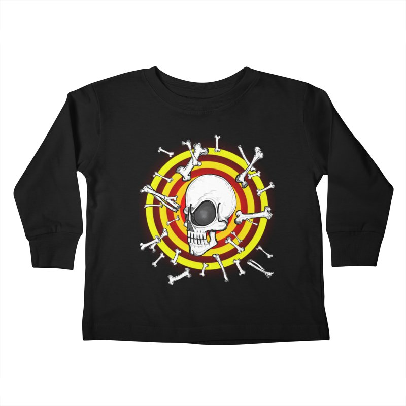 Madder 2 Da Bone Kids Toddler Longsleeve T-Shirt by THEWAYOFPK