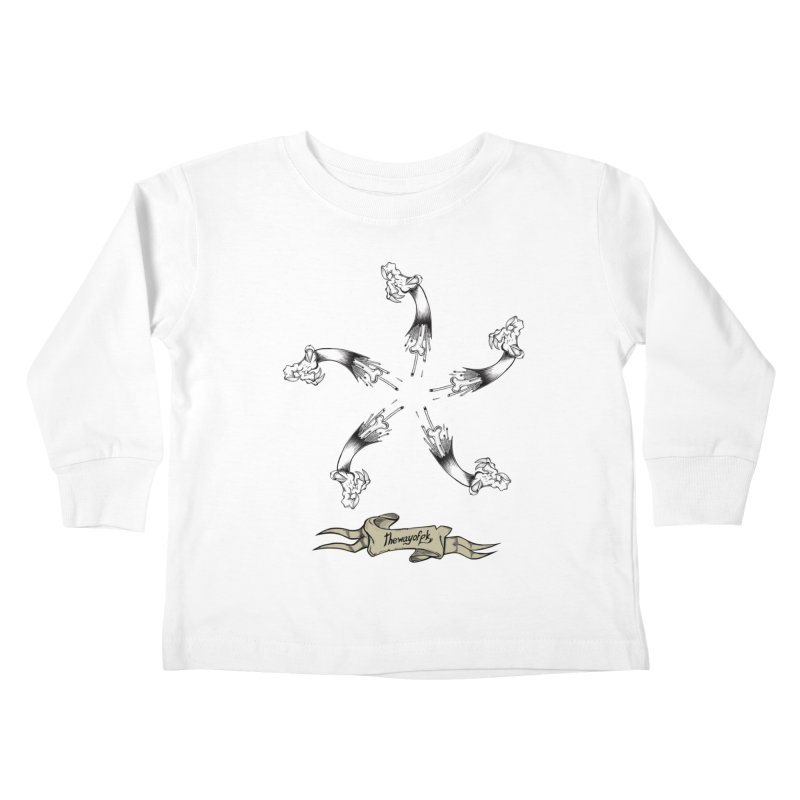 TWOPK Insignia Kids Toddler Longsleeve T-Shirt by THEWAYOFPK