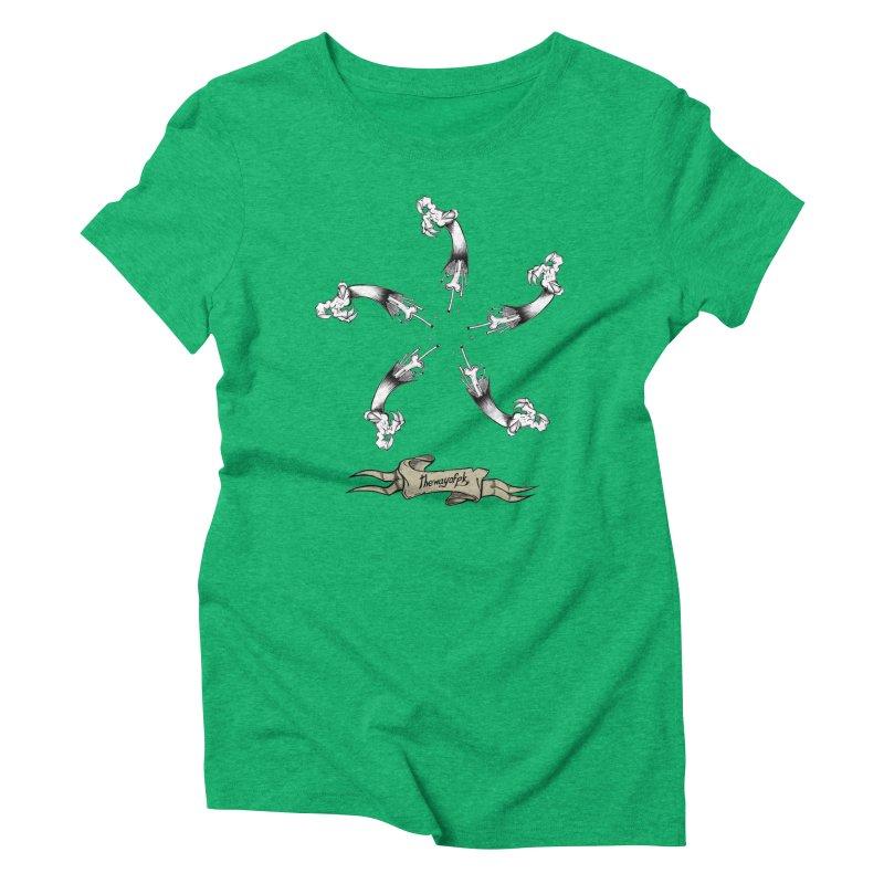 TWOPK Insignia Women's Triblend T-Shirt by THEWAYOFPK