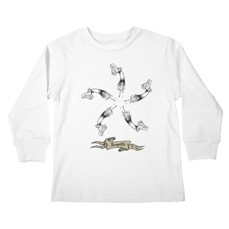 TWOPK Insignia Kids Longsleeve T-Shirt by THEWAYOFPK