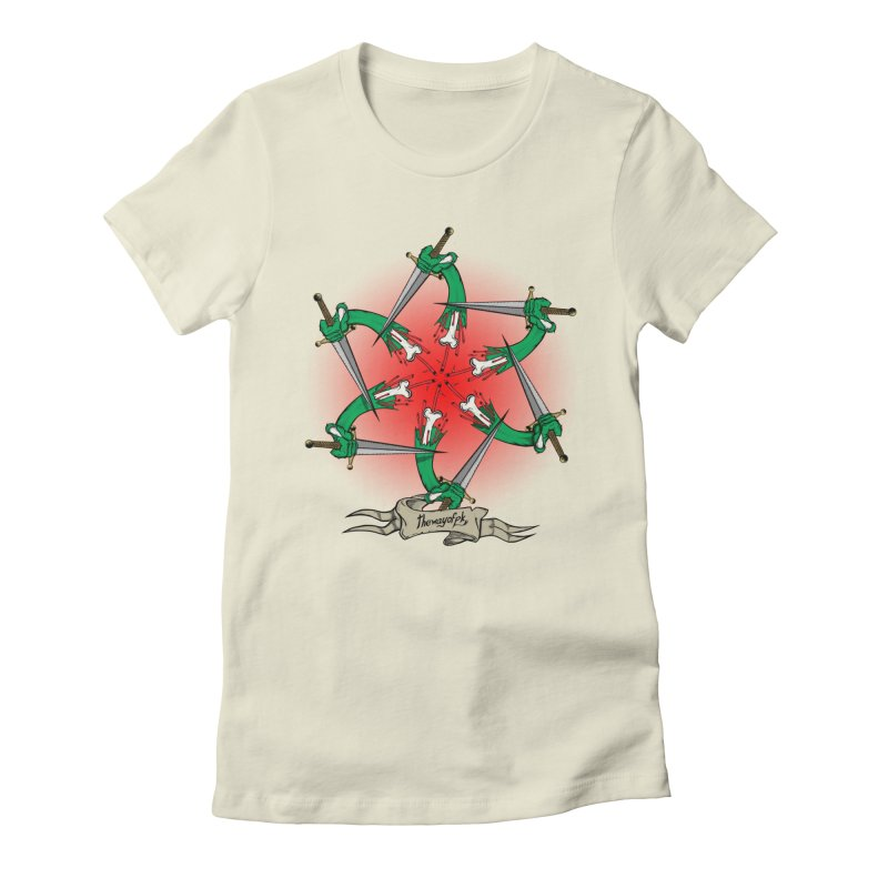 ides of wrath Women's Fitted T-Shirt by THEWAYOFPK