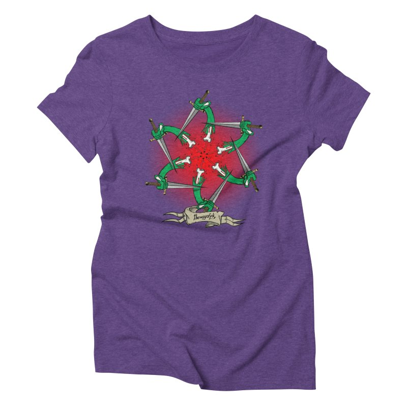 ides of wrath Women's Triblend T-Shirt by THEWAYOFPK