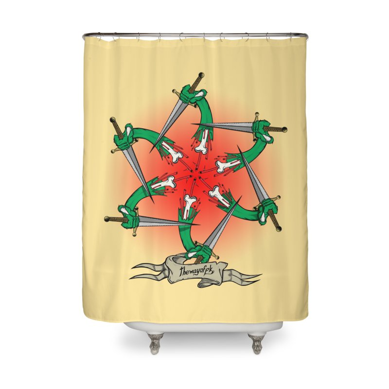 ides of wrath Home Shower Curtain by THEWAYOFPK