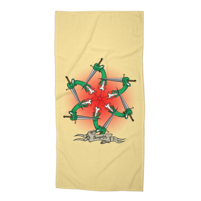ides of wrath Accessories Beach Towel by THEWAYOFPK