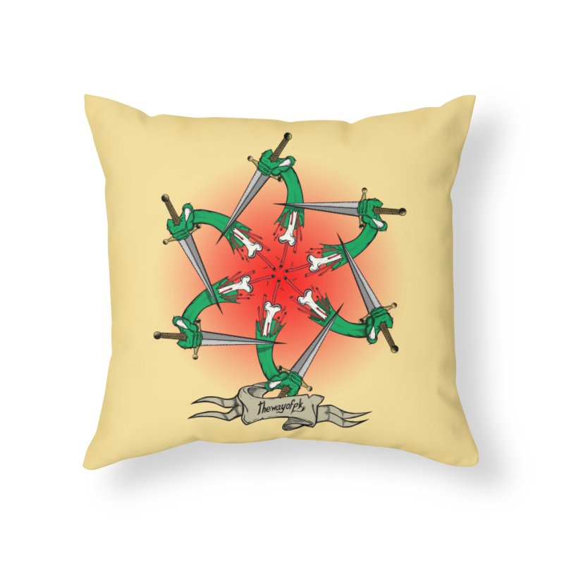 ides of wrath Home Throw Pillow by THEWAYOFPK