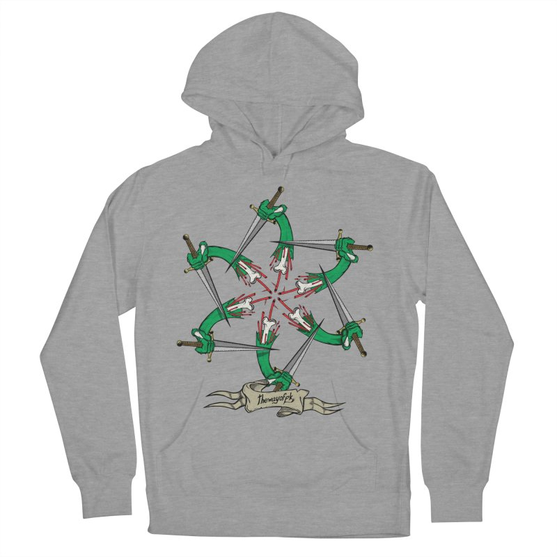 What Goes Around Comes Around Men's French Terry Pullover Hoody by THEWAYOFPK