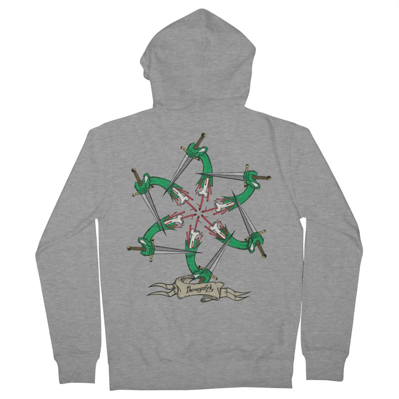 What Goes Around Comes Around Men's Zip-Up Hoody by THEWAYOFPK