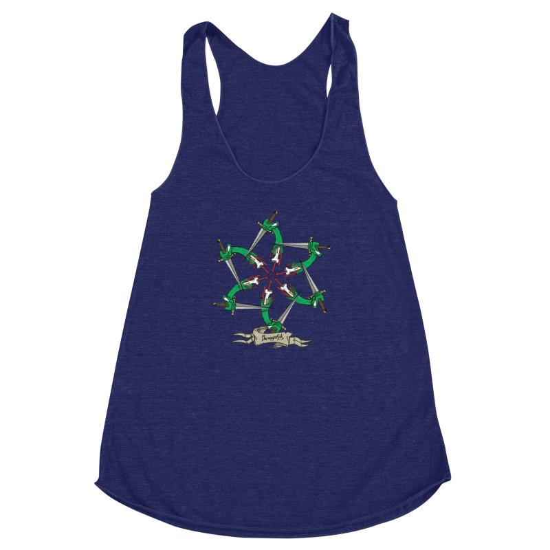 What Goes Around Comes Around Women's Racerback Triblend Tank by THEWAYOFPK