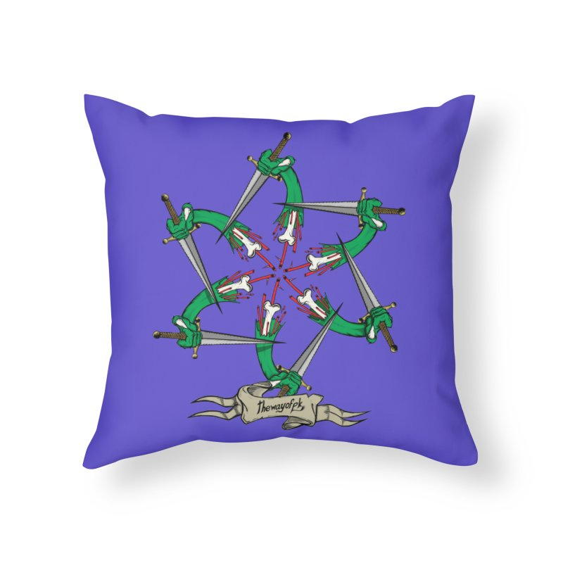 What Goes Around Comes Around Home Throw Pillow by THEWAYOFPK