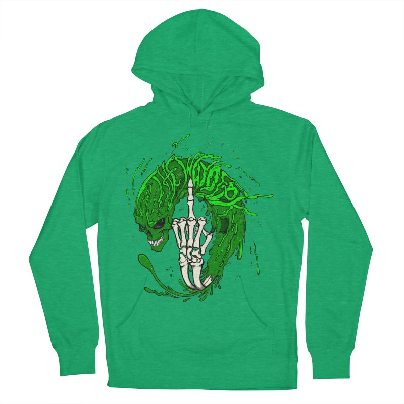 Slimey Diss Men's French Terry Pullover Hoody by THEWAYOFPK