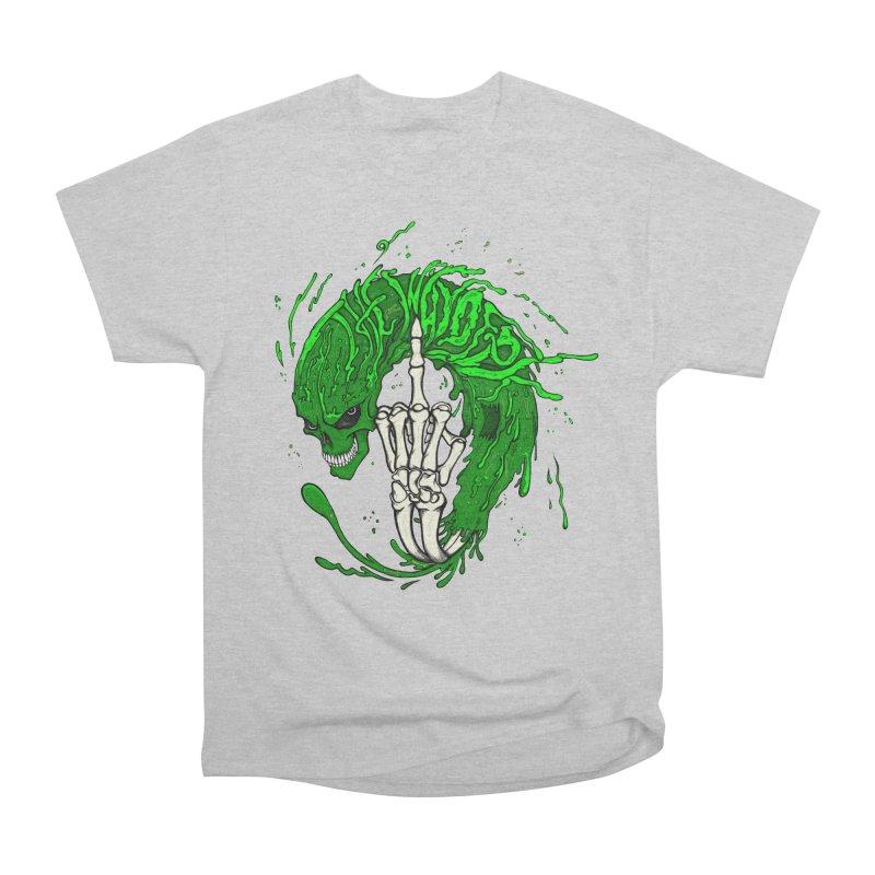 Slimey Diss Women's Heavyweight Unisex T-Shirt by THEWAYOFPK