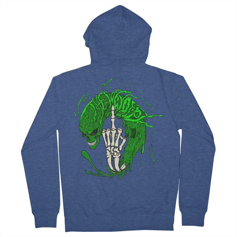 Slimey Diss Men's French Terry Zip-Up Hoody by THEWAYOFPK