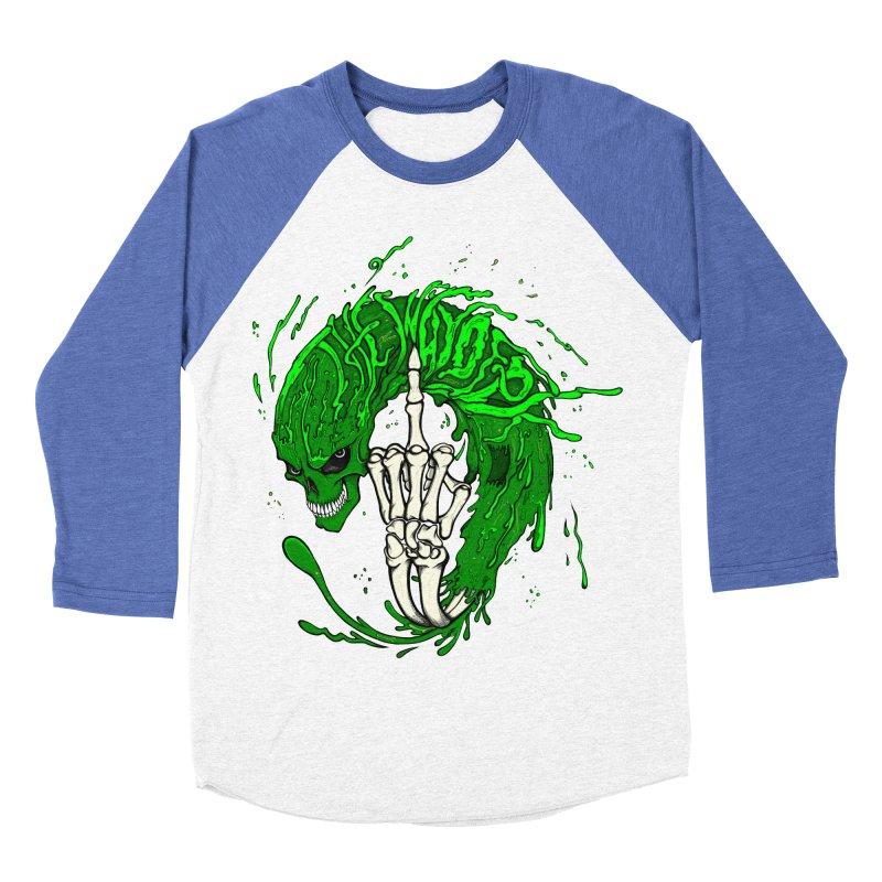 Slimey Diss Women's Baseball Triblend T-Shirt by THEWAYOFPK