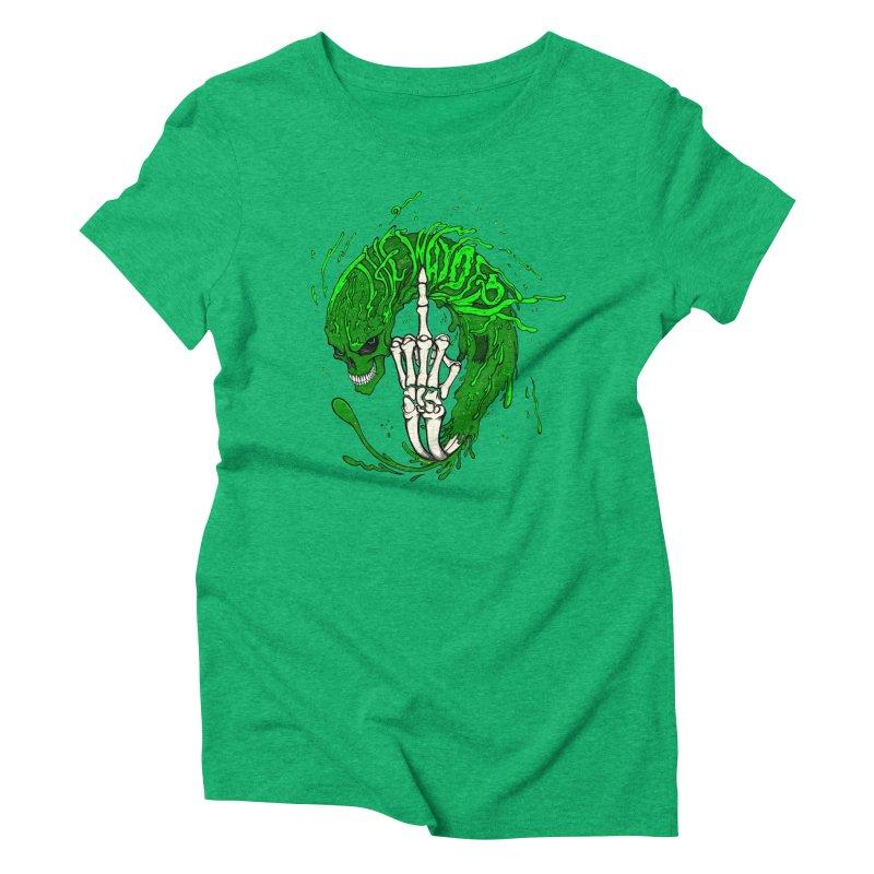 Slimey Diss Women's Triblend T-Shirt by THEWAYOFPK