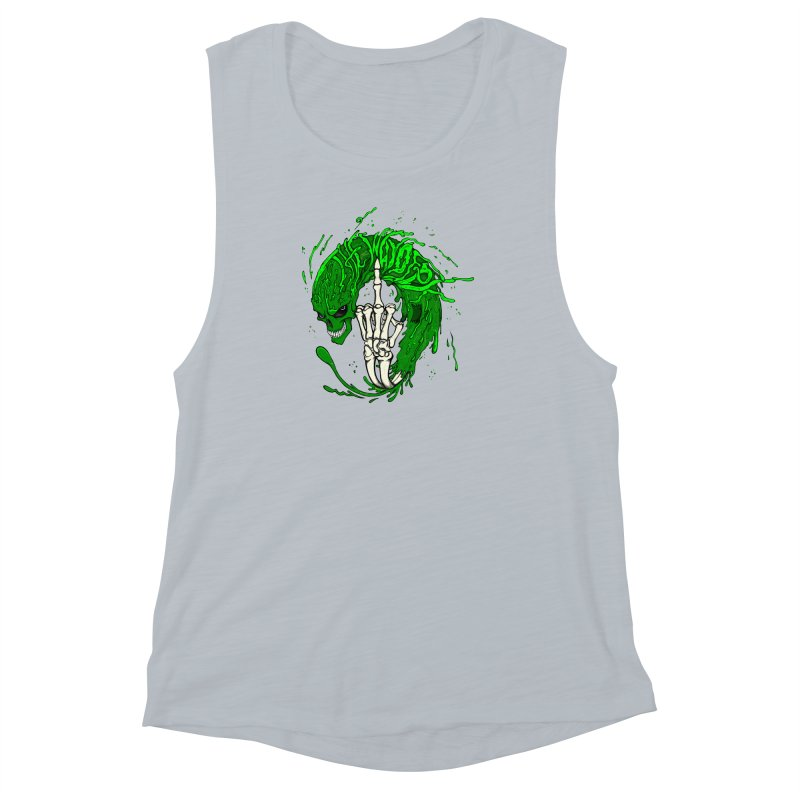 Slimey Diss Women's Muscle Tank by THEWAYOFPK