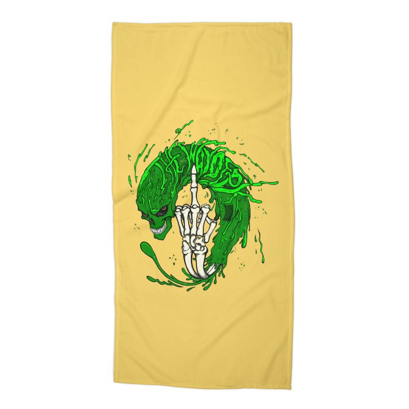 Slimey Diss Accessories Beach Towel by THEWAYOFPK