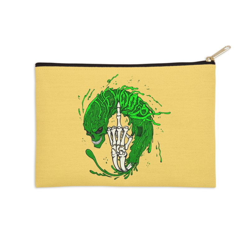 Slimey Diss Accessories Zip Pouch by THEWAYOFPK