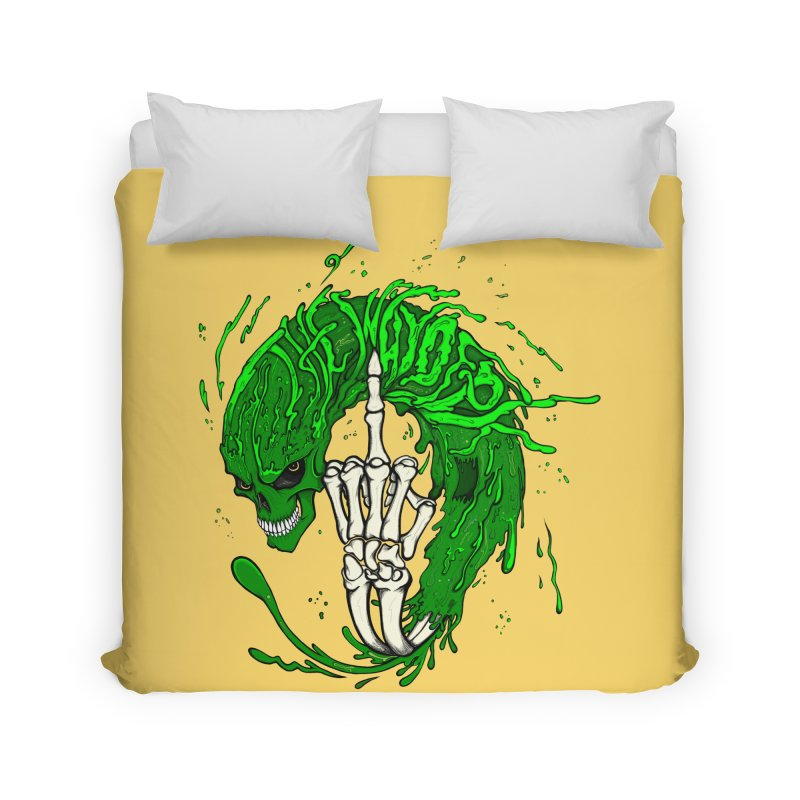 Slimey Diss Home Duvet by THEWAYOFPK