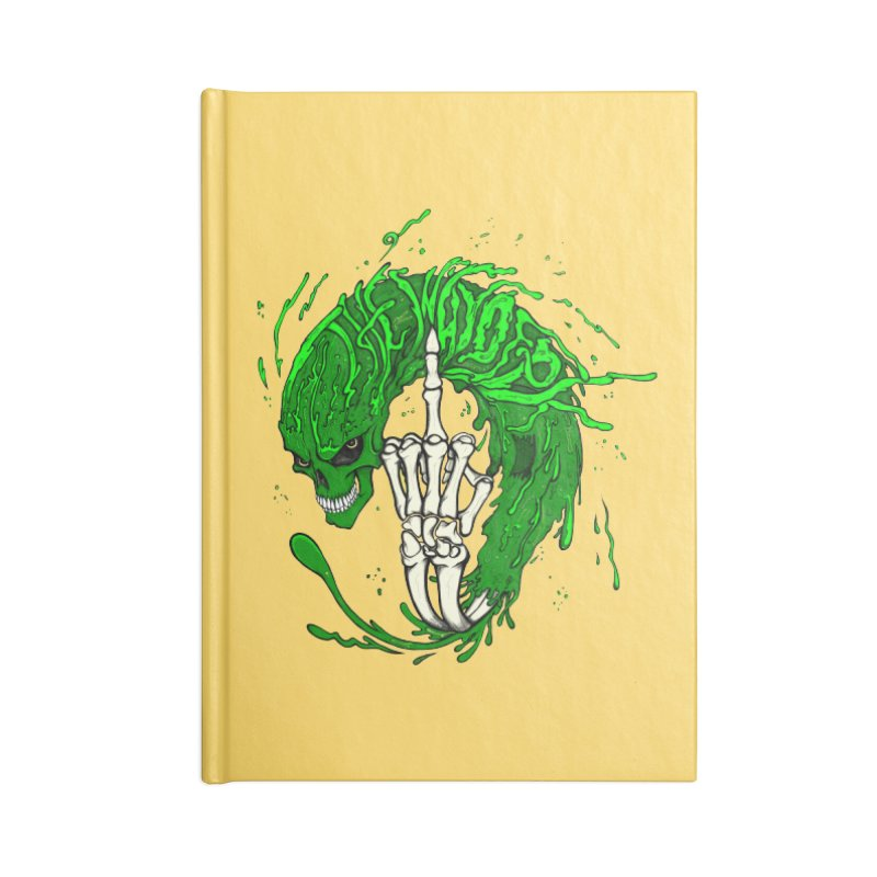 Slimey Diss Accessories Notebook by THEWAYOFPK