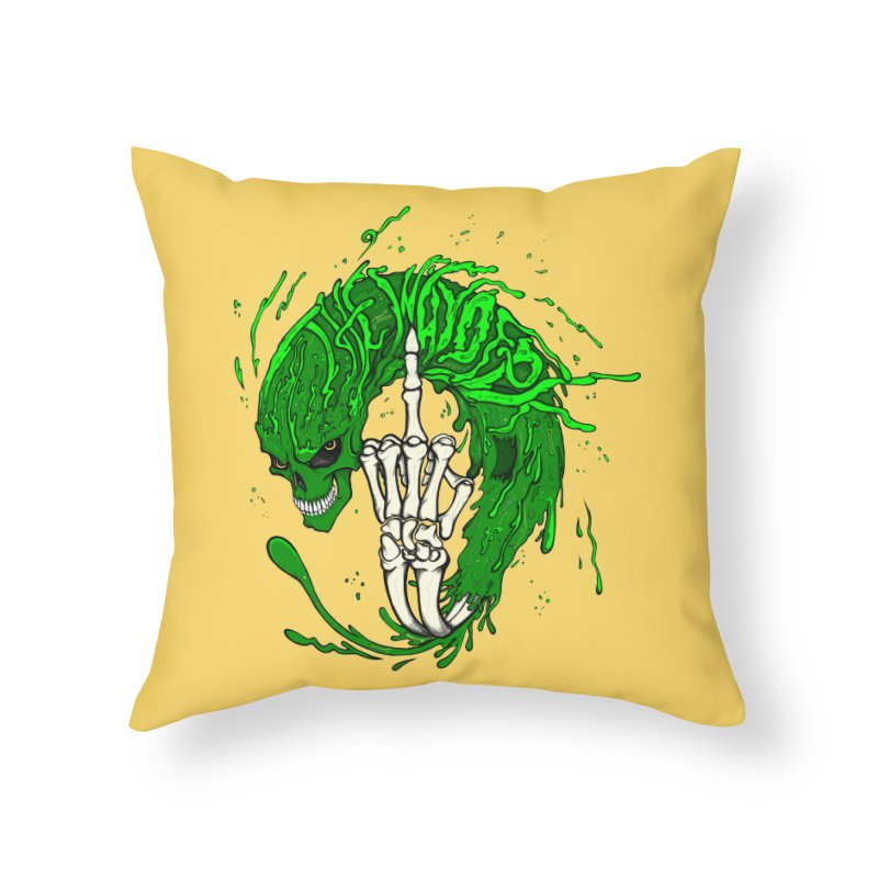 Slimey Diss Home Throw Pillow by THEWAYOFPK