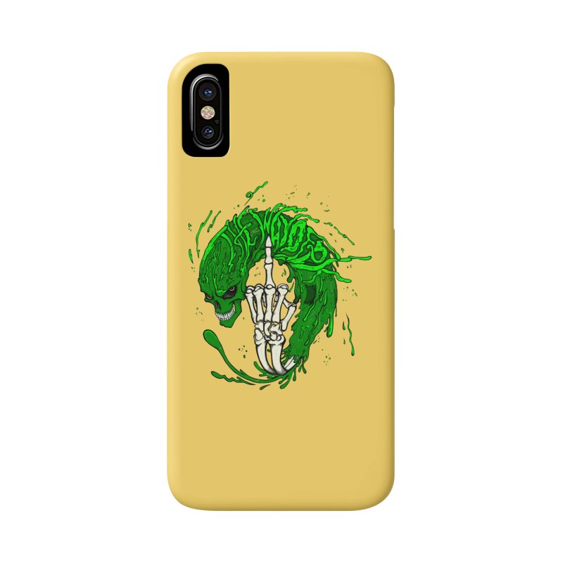 Slimey Diss Accessories Phone Case by THEWAYOFPK