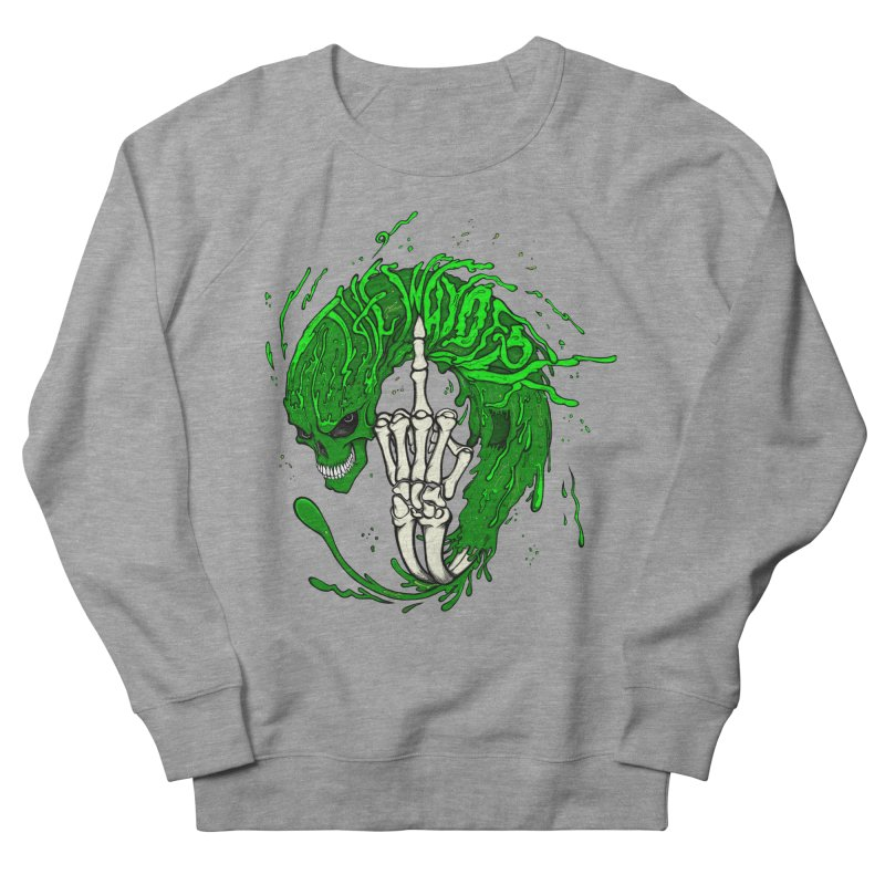 Slimey Diss Men's French Terry Sweatshirt by THEWAYOFPK